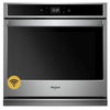 "30"" Single, 5.0 Cu Ft., Smart Appliance, Thermal, Hidden Bake, Frozen Bake, Self Clean, Extra Large Window, Fit System"