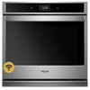 "27"" Single, 4.3 Cu. Ft., Smart Appliance, Self Clean & Steam Clean, True Convection, Hidden Bake, Rapid Preheat, Fit System"