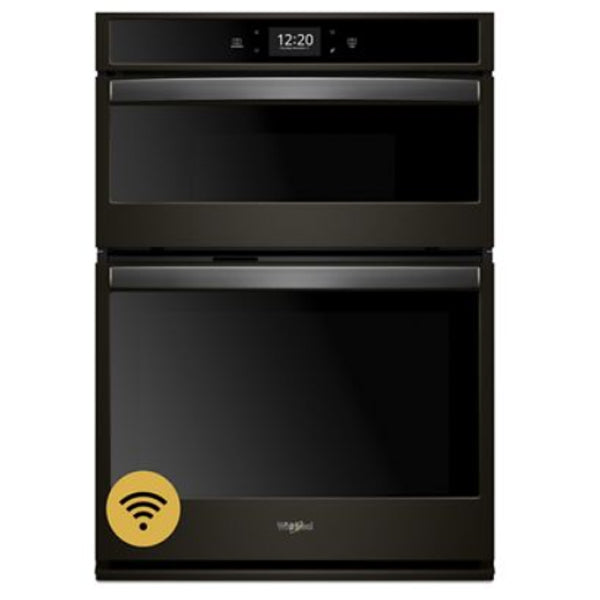 "27"" Combi, 4.3 Cu Ft. / 1.4 Cu Ft., Smart Appliance, True Convection (Lower), Hidden Bake, Self Clean And Steam Clean, Extra Large Window, 900 Watts (Micro)"