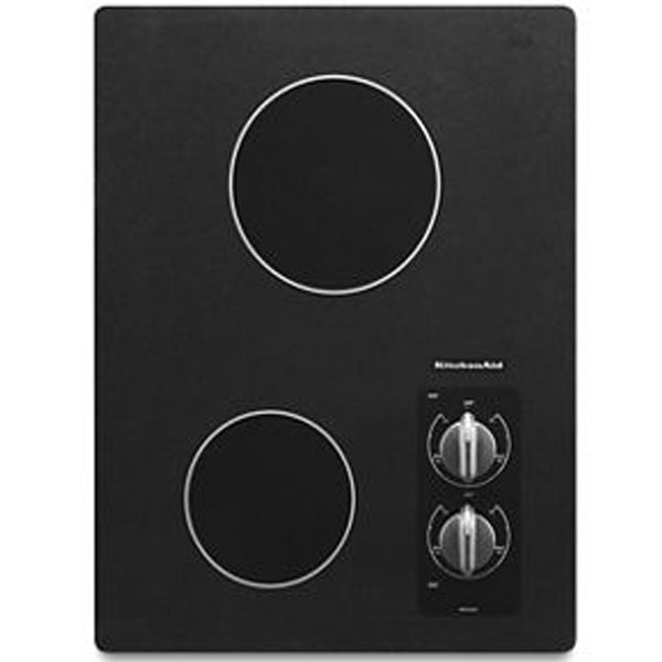 Electric Cooktop with 2 Radiant Elements
