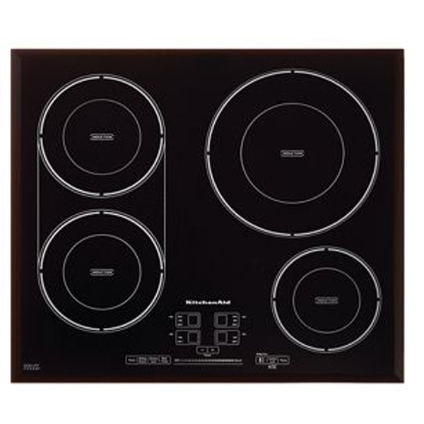 "24"" Induction, 4 Elements, 1.8K, 1.8K, 3.2K, 3.2K (Watts), Tap Touch Controls"