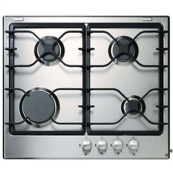 "24"" Gas, 4 Burners, 3.6K, 5.6K, 5.6K, 11.5K (Btus), Knob Controls, Continuous Grate"