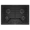 "30"" Gas, 4 Burners, 15K, 12K, 9.1K, 5K (Btus), Knob Controls, Ez-2-Lift  Grates"