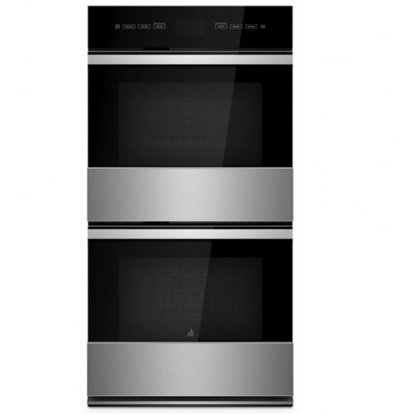"27"" Double Wall Oven, 4.3"" Touch Lcd Screen, 4000W Broil, Premium Rollout Rack, Flat Tines"