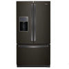 26.8 Cu Ft., Exterior Water And Ice Dispenser, Led Lighting, 1 Fixed/4 Adjustable Shelves, 2 Hc Crispers, Temp Controlled Pantry,  Pull-Out Platter Pocket, 5 Door Bins,  2Nd Ice Maker In Freezer, Energy Star