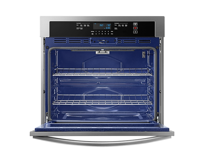 Wall Oven with Wi-Fi Connectivity in Stainless Steel