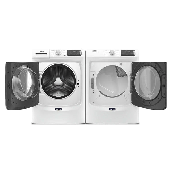 Maytag Front Load Washer 5.2 cu. ft. & Front Load Electric Dryer 7.3 cu. ft. MHW5630HW-YMED5630HW