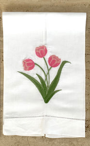 Guest Towel Tulipanes