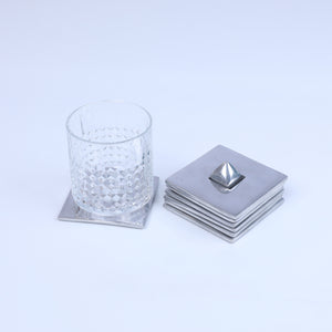Set 6 Coasters Metal