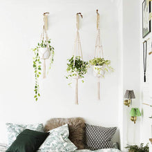 Load image into Gallery viewer, 5 Handmade Plant Hangers - Set of 5 - Home Hunt