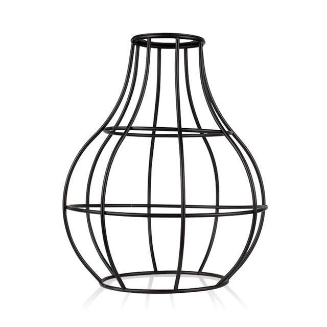 Minimalist Metal Cage Lampshade - Home Hunt