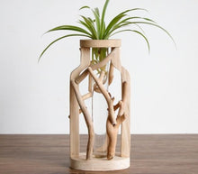 Load image into Gallery viewer, Handmade Wooden Vase - Home Hunt