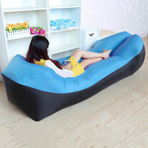 Inflatable Outdoor Air Lounger - Home Hunt