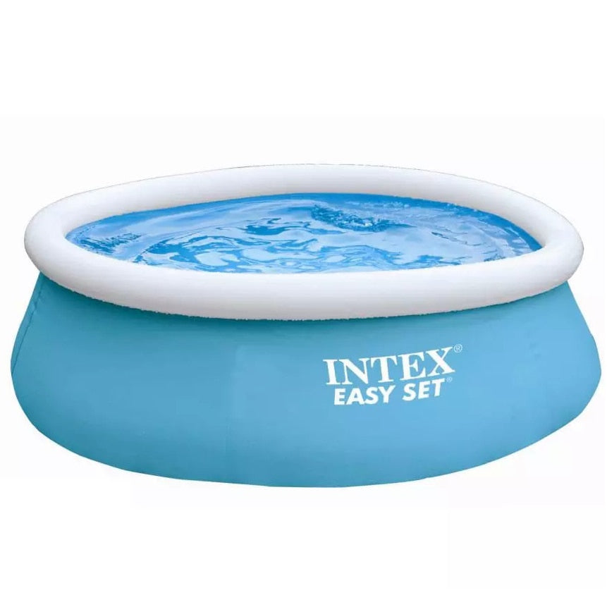 Round Intex Inflatable Swimming Pool - Home Hunt