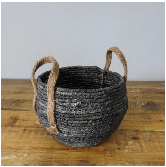 Basket - Charcoal Grey Basket