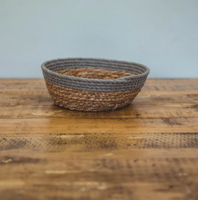 Basket - Grey Two-tone Basket