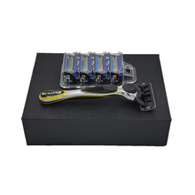 Load image into Gallery viewer, Shave.sg Premium Shaver Set with Gift Box (includes 4 refills)