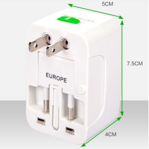 Universal Travel Adaptor (No USB) - Logo printing available for large quantity!