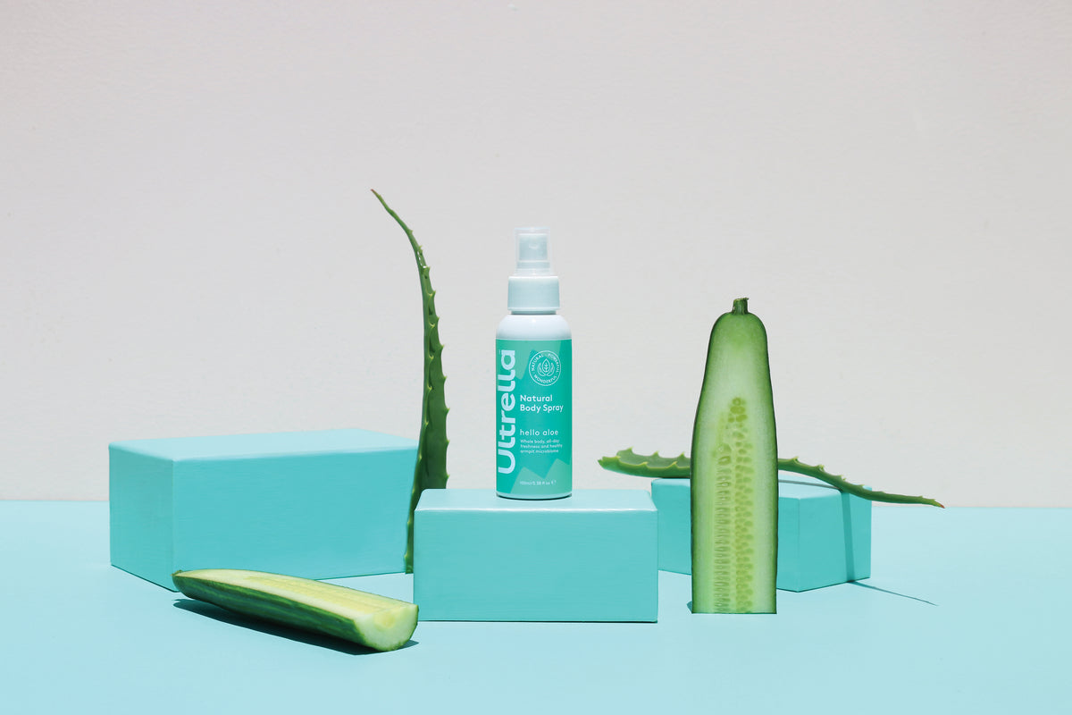 Natural Body Spray - Hello Aloe