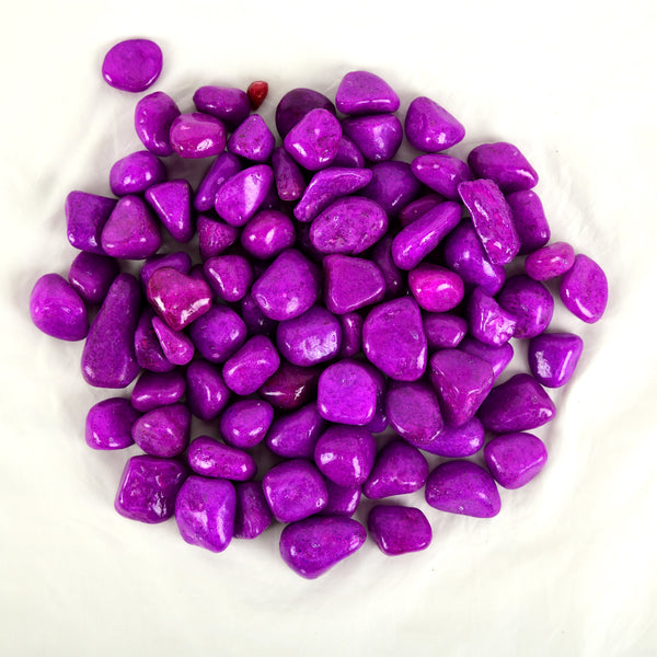Purple Pebbles/Stones/Gravels (450g)