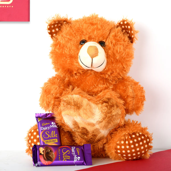 Brown Teddy Combo