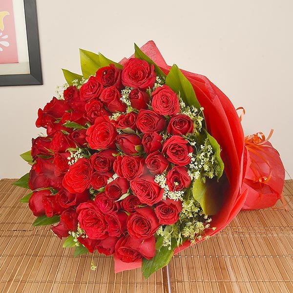 75 Red Rose Bouquet