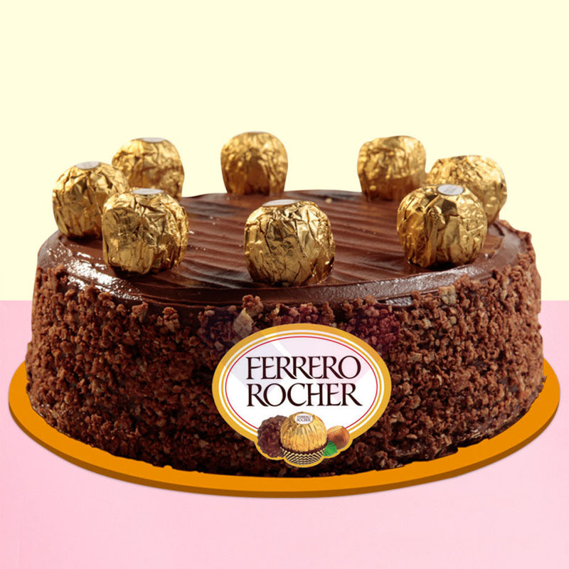 Ferrero Feast Chocolate Cake