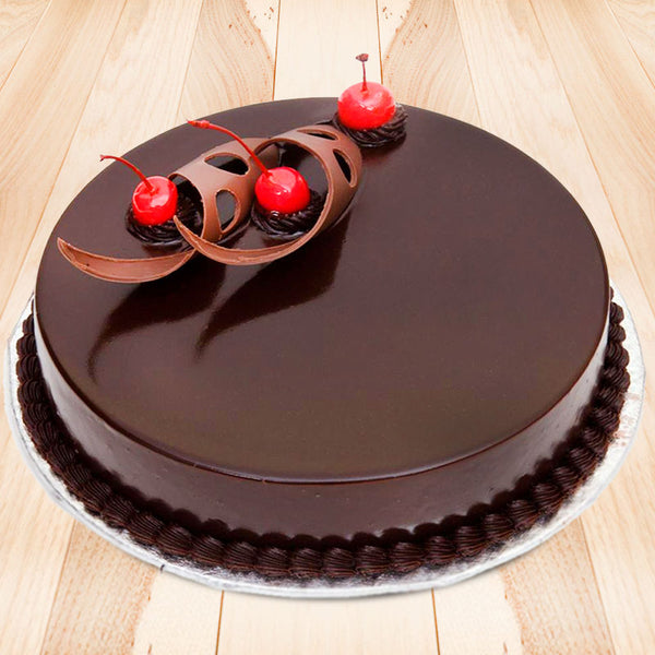 Lip-smacking truffle cake