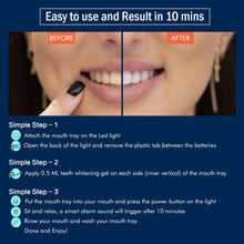 Load image into Gallery viewer, Mysmile Deluxe Teeth Whitening Kit - Help Fast Whiten Your Yellow Teeth in 10 min