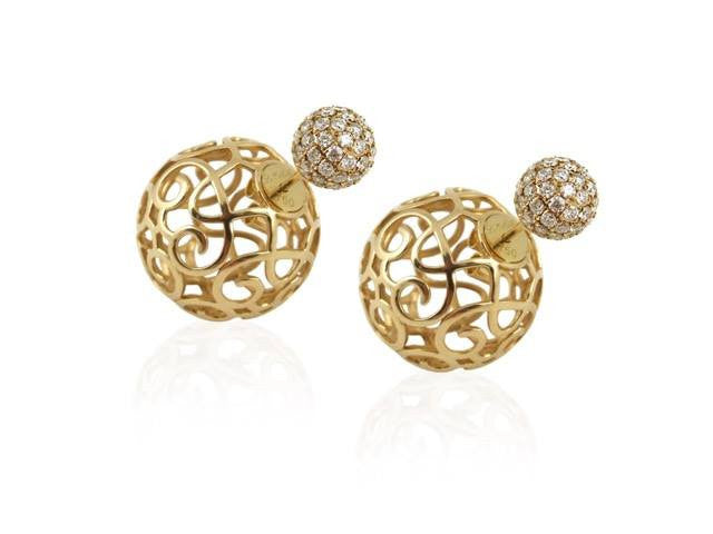 Firenze Diamond Earrings - Le Midi -  Earring - Ora by D'Amore Jewelers - 1