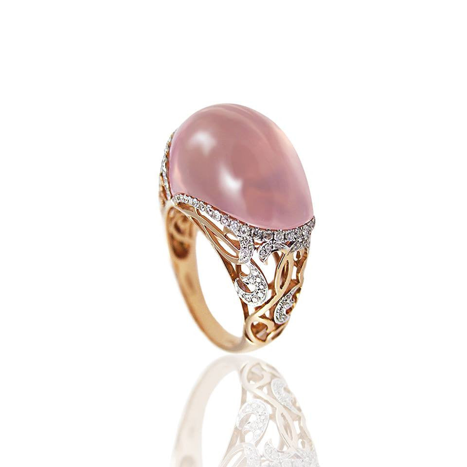 Dama Ring, Ring, Vianna - Ora by D'Amore Jewelers
