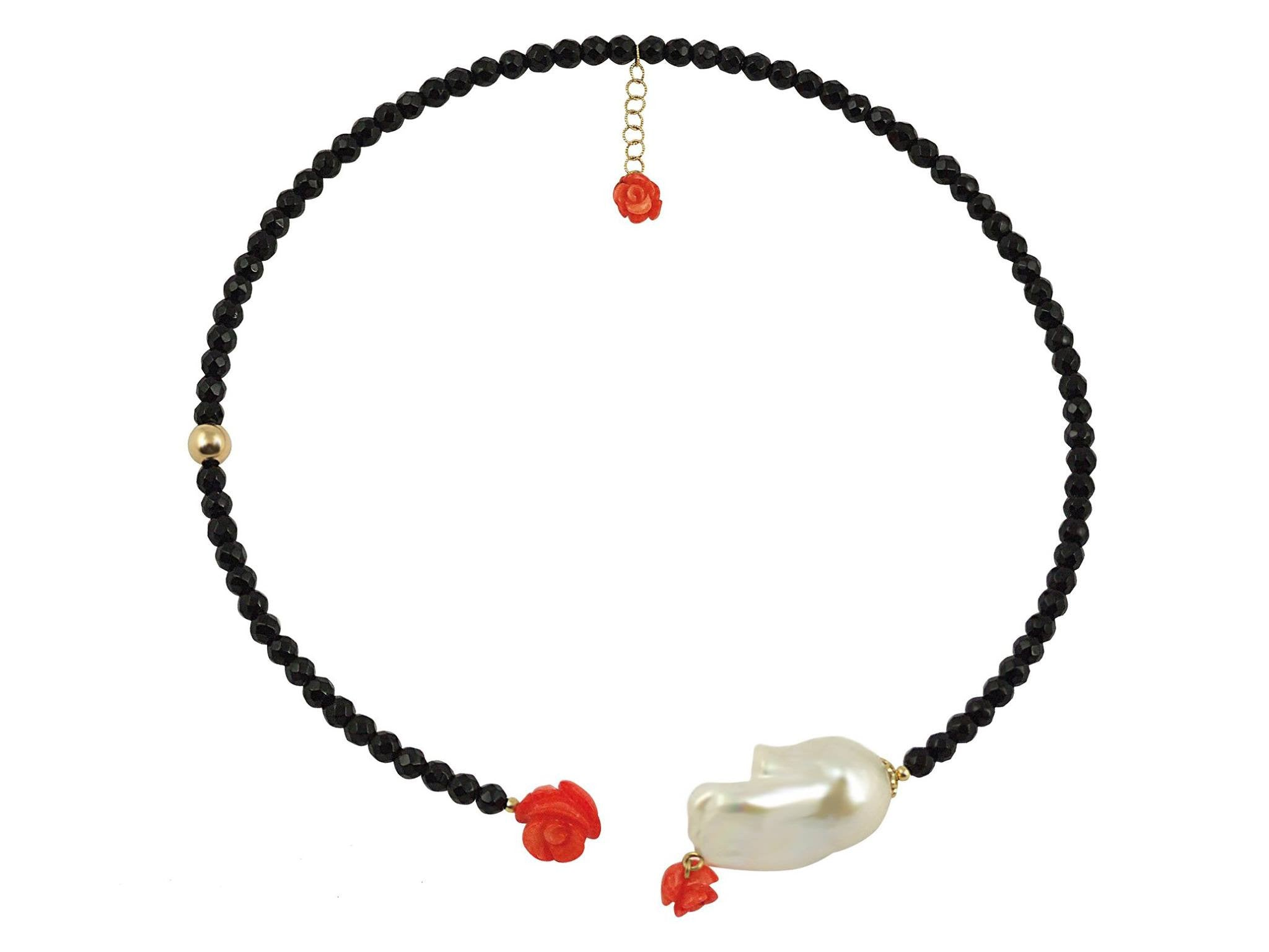Rosaperla Necklace - Le Midi -  necklace - Ora by D'Amore Jewelers