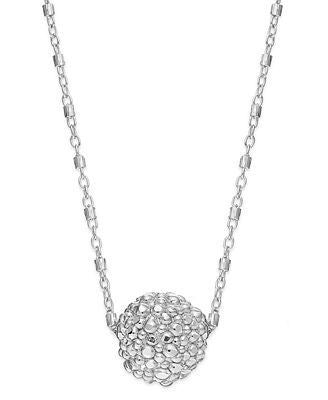 The Fifth Season by Roberto Coin Sterling Silver Necklace, Stingray Ball Pendant, , Necklace, The Fifth Season by ROBERTO COIN, D'Amore Jewelers