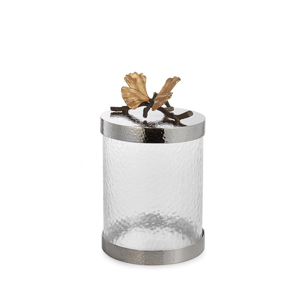 Butterfly Ginkgo Canister Medium, Home, Michael Aram - Ora by D'Amore Jewelers