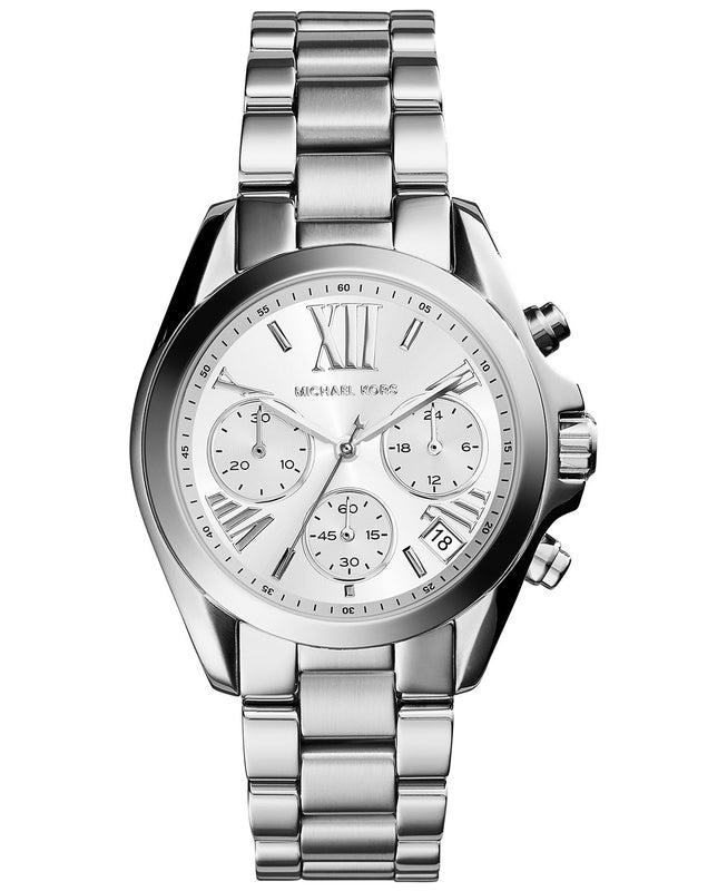 Michael Kors Mini Bradshaw Silver-Tone Watch - michael kors -  Watches - Ora by D'Amore Jewelers