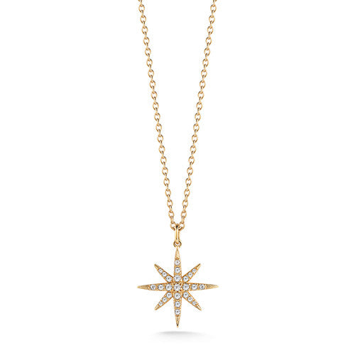 Signature Compass Rose Pendant - elizabeth and james -  Necklace - Ora by D'Amore Jewelers
