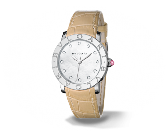 Bvlgari Bvlgari - Mother of Pearl with Diamonds - Bvlgari Watches -  Watches - Ora by D'Amore Jewelers