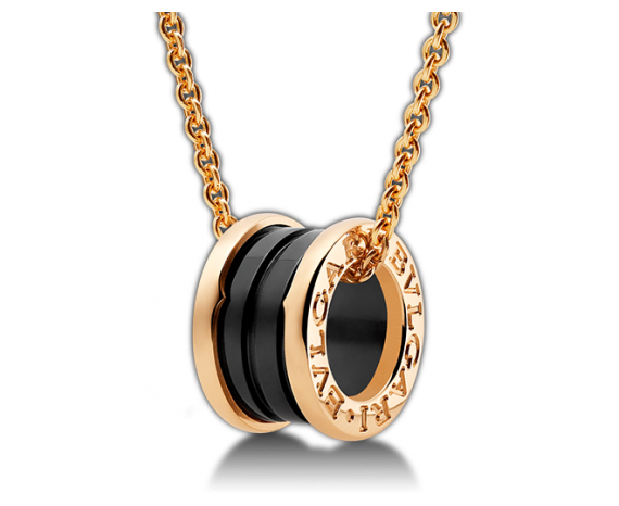 B.Zero Black Ceramic Necklace, Necklace, Bvlgari - Ora by D'Amore Jewelers