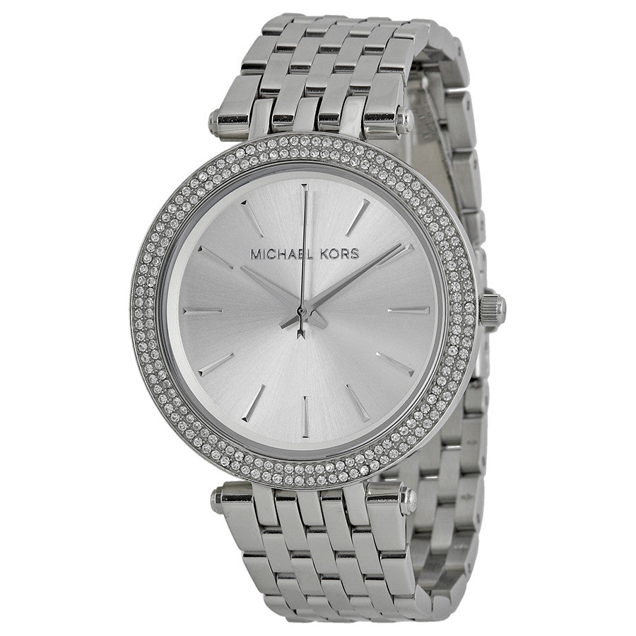 Darci Silver-Tone Watch, Watches, michael kors - Ora by D'Amore Jewelers