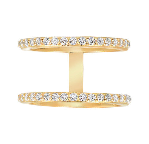 Double Band Ring - Gold