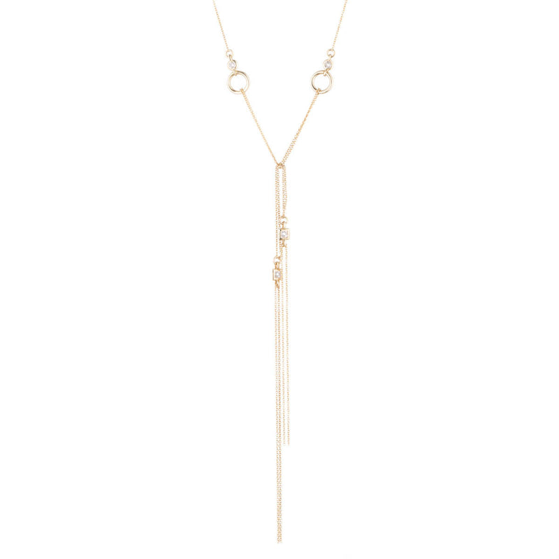 Knotted Lariat Pendant - Alexis Bittar -  Necklace - Ora by D'Amore Jewelers