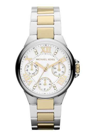 Michael Kors Chronograph Two-Tone Stainless Steel Bracelet - michael kors -  Watches - Ora by D'Amore Jewelers