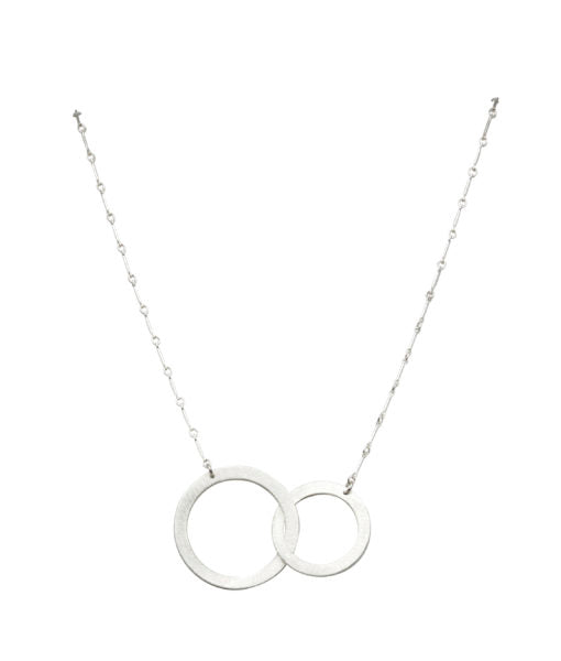 Linked Washer Necklace