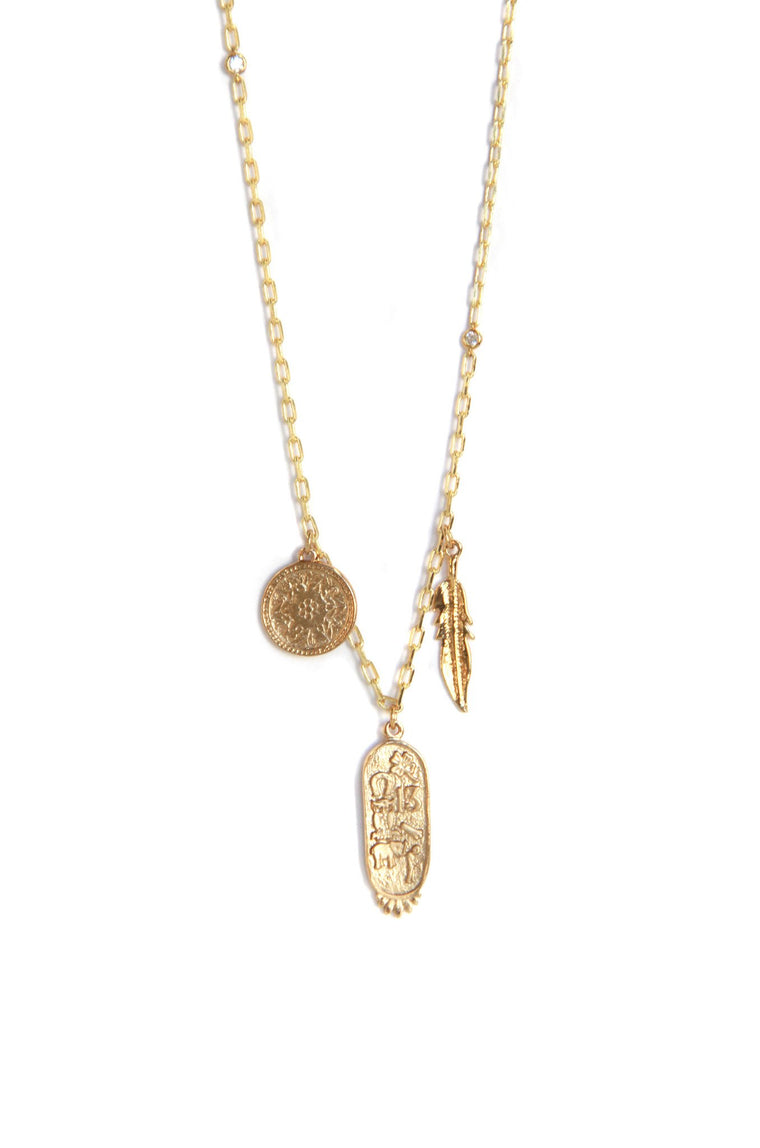 Sunken Treasure Necklace in Gold