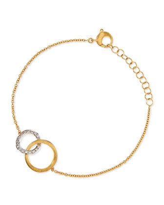 Delicati Yellow Gold Infinity Bracelet, Bracelet, Marco Bicego - Ora by D'Amore Jewelers