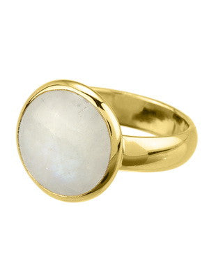 KAHILI RING in rainbow moonstone, Ring, Stephen Estelle - Ora by D'Amore Jewelers