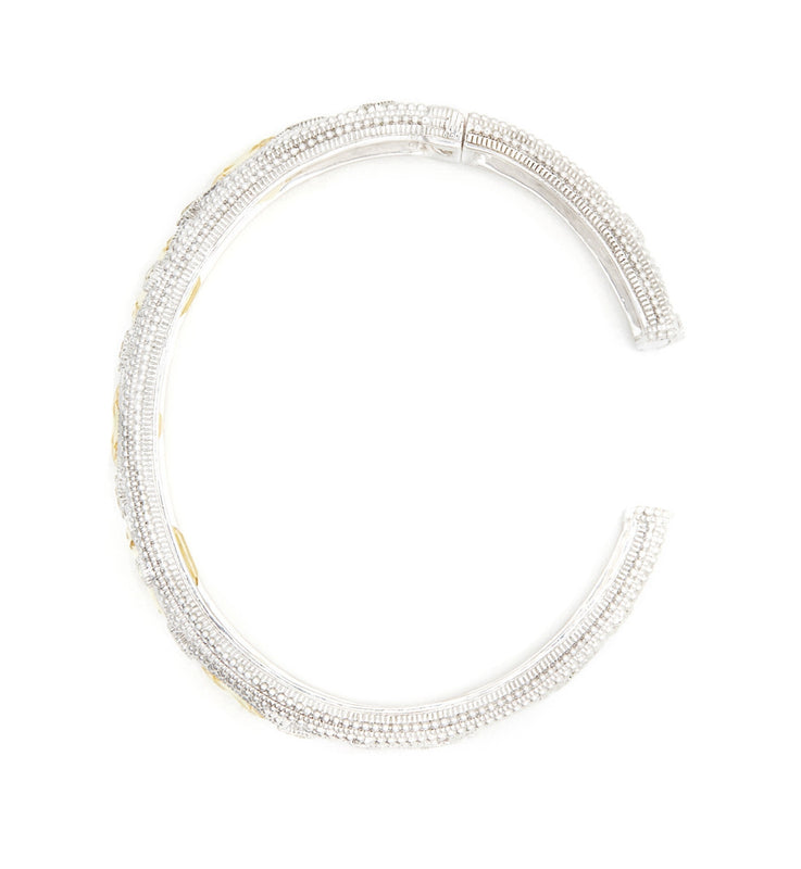 Aria Canary Crystal Multi Stone Cuff, , Bracelet, Judith Ripka, D'Amore Jewelers  - 3
