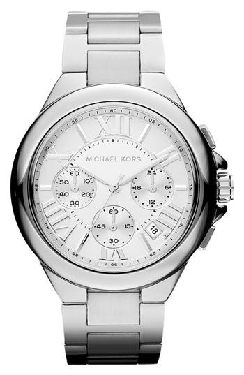 Michael Kors Mid-Size  Color Stainless Steel Camille Chronograph Watch - michael kors -  Watches - Ora by D'Amore Jewelers