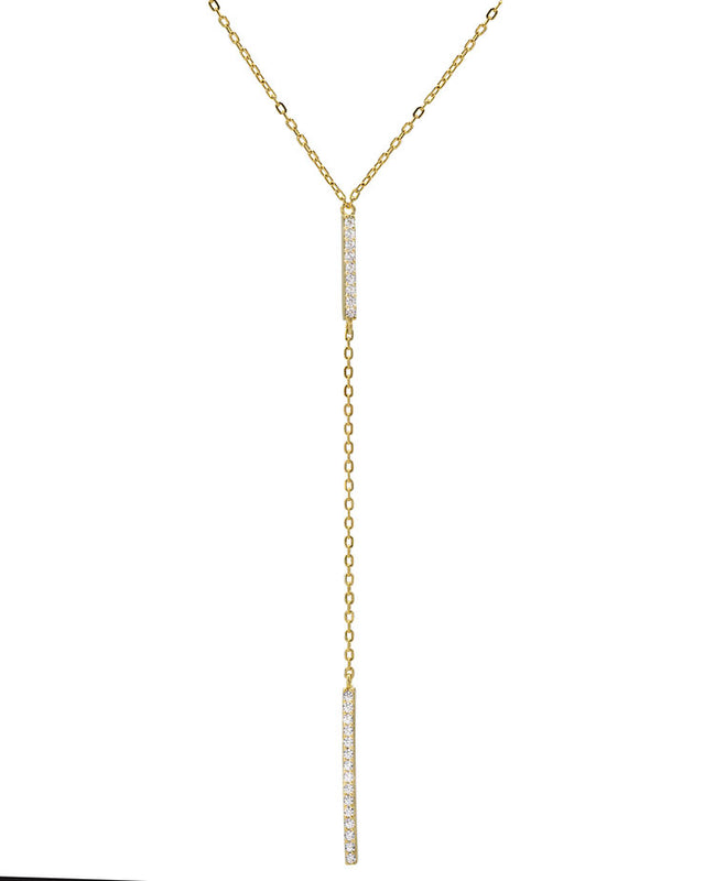 Bar Lariat, Necklace, Ettika - Ora by D'Amore Jewelers