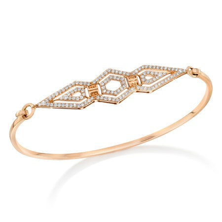 Montmartre Multi-Shaped Element Diamond Bangle - Ivanka Trump -  Bracelet - Ora by D'Amore Jewelers